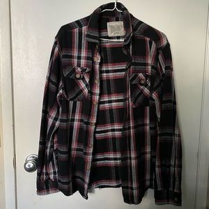 WindRiver Cotton Flannel Long Sleeve Shirt Large